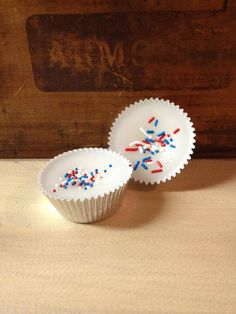 These are made with 100% soy wax and have more oil in them than the soy blended tarts!   The foil tarts are poured into a cupcake foil and we decorate the tops according to the name.   Each weigh approx. 1 ounce some weigh more!   We try and decorate each of them but some may not get any decorations, only because they are better left plain.   They look so cute in a gift basket, or set out for display.   www.backroad-hobbies.com    $1.45