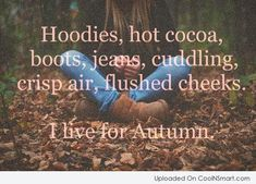 What is there not to love about fall?!