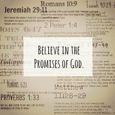 God promises !