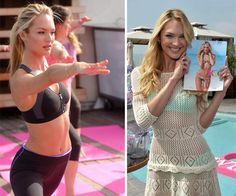 Victoria's Secret Candice Swanepoel's Exercise Routine