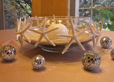 Beach Wedding Starfish Centerpiece