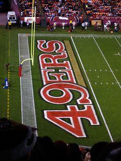 49er Nation: Niners for Life! 49ers Banner – Candlestick Park