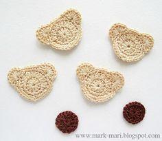 Crochet Spot   Blog Archive   15 Free Crochet Appliqués