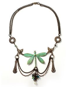 """Dragonfly Willow"" by Mackie Mullane for Vintaj"