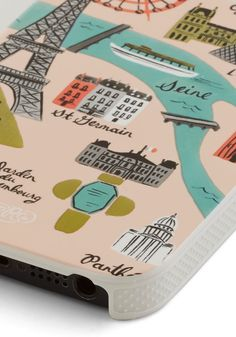 Streets of Paris iPhone 5/5S Case By Rifle Paper Co
