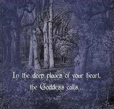 The Goddess Callls