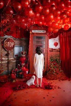 Surreal in #red #stop #balloons
