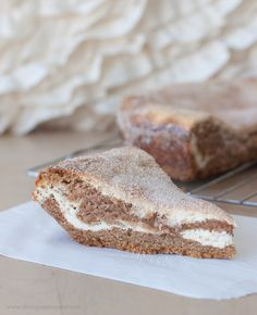 Snickerdoodle Pie with a Layered Cream Cheese Filling