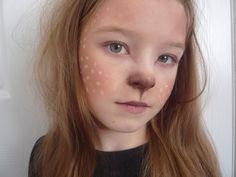 deer makeup - Google Search this is precious! I want to do it on some one! Who wants to be a deer?