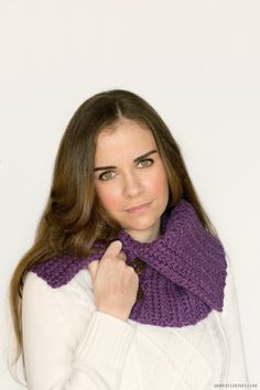 Chic Chunky Cowl Crochet Pattern