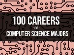 Majoring In Computer Science? 100 Careers To Consider @Inside Jobs