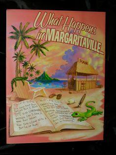 Jimmy Buffett Margaritaville Vintage by CelebrityMemorabilia, $30.00