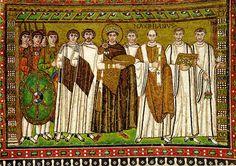 byzantin art, roman art, san vital, church, mosaics