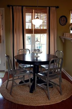 round dining table ~ love
