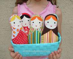 One Babushka Russian Matryoshka Cloth Softie Doll for Baby -Toddler - Youth Girl - Pick 1 of My Doll Designs Matryoshka Clothing, Decor Ideas, Soft Dolls, Diy Gift, Ideas Diy, Babushka Russian, Matryoshka Babushka, Russian Matryoshka, Clothing Softies