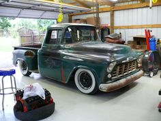 56 chevy pickup