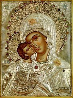 Icon of Our Lady of America. #God #Catholic #Christianity #Virgin #devotion #prayer #art #icons