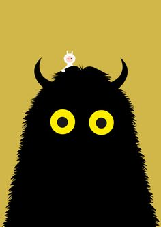 """Terrible Yellow Eyes: Tribute to """"Where the Wild Things Are"""": by Dandy Raffe"""