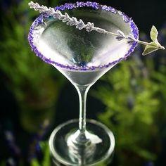 Shaken or stirred, this Lavender Martini looks divine!