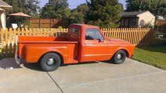 Orange 1967 step side