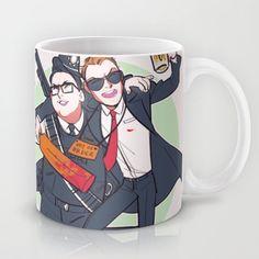 Three Flavours Cornetto Mug