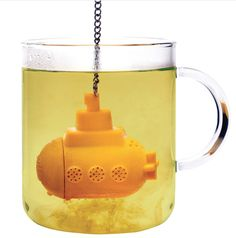 yellow sub tea infuser from Pa Design