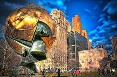 The Sphere from the World Trade Center