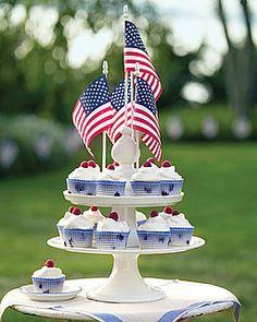 RW&B Cupcakes