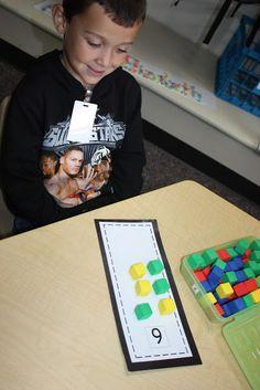 Mrs. Atkin's Kindergarten: Work Stations-2 and Classroom Number Resource