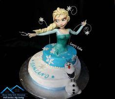 Frozen - Elsa Cake Design http://buymyvahouse.com/