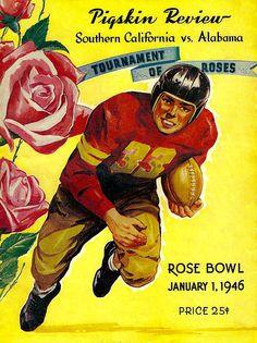 1946 Rose Bowl Program