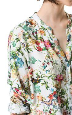 PRINTED SHIRT from Zara