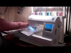 How to  Embroidery on the Brother PE 700 Embroidery Machine