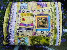 Small Butterfly Quilt by Jujujan, via Flickr