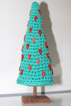 Árbol de Navidad de Trapillo ~ Patrón Gratis en Castellano