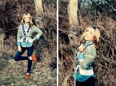 loving this denim on denim with sweater combo.  makes me long for fall to get here!