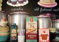 pretty vintage baking cupboard - jenny holiday