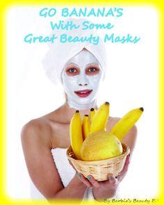 Belle Purlieu:  Banana Beauty Masks.