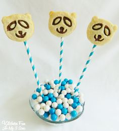 Kitchen Fun With My 3 Sons: Panda Pie Pops
