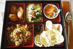 Bali's best breakfast: Four Seasons Resort Bali at Sayan's breakfast bento box!