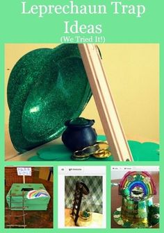 So many fun ideas to make a leprechaun trap for St. Patrick's Day!! http://thestir.cafemom.com/toddler/168489/3_simple_ways_for_lucky?utm_medium=sm&utm_source=pinterest&utm_content=thestir&newsletter