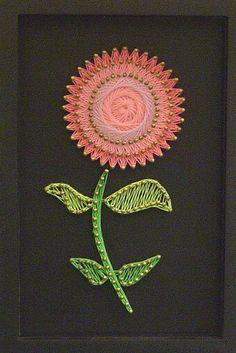 asiaraim:    flower string art