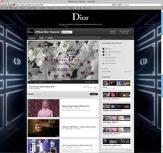 DiorYouTubeChannel brand experi