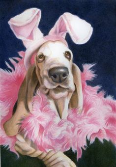 The most beautiful Easter Bunny by Pam Tanzey. Love this !!