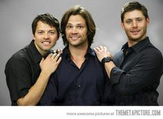 Awkward family picture…LOVE!  #Supernatural