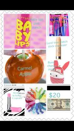 Cute girls easter basket idea with even a delicious treat and several beauty products that are great for no much  at all