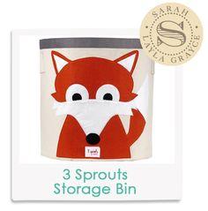 Sarah's Fave! 3 Sprouts Storage Bin Fox Orange from @Layla Grayce #laylagrayce #lgstaff #children