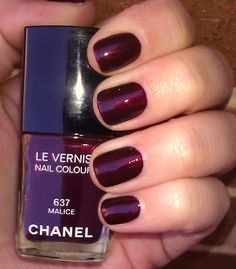 I've been loving Chanel Malice lately!