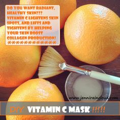 DIY: vitamin C mask