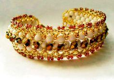 Free pattern for beaded bracelet Sona